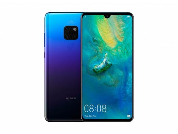 Замена стекла камеры Huawei Mate 20 Pro