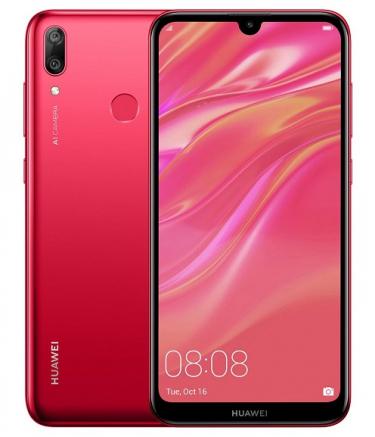 Замена стекла камеры Huawei Y7 2019